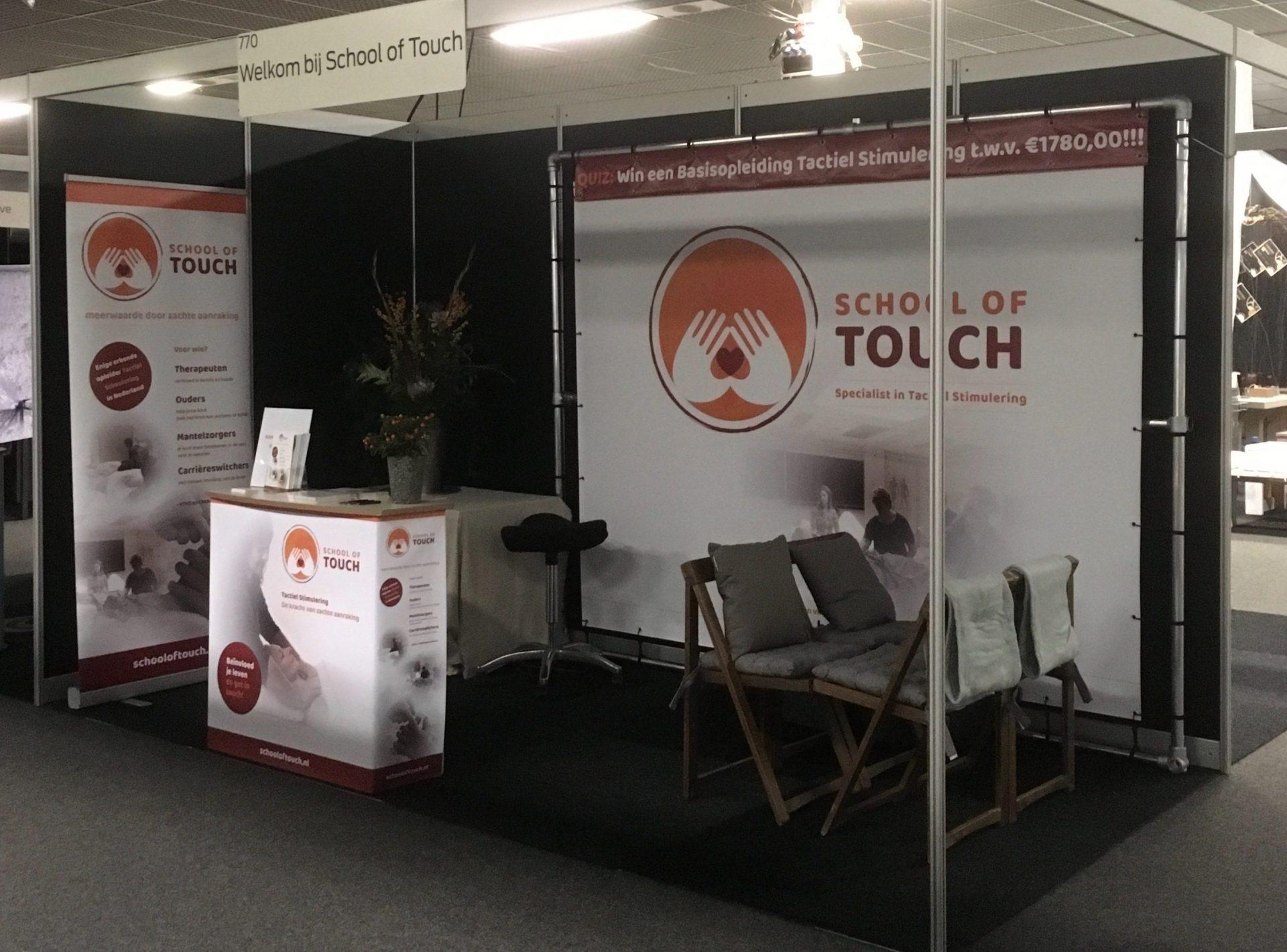 15 en 16 maart School of Touch op Massage-Complementaire Vakbeurs Hoevelaken